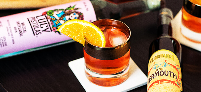 Making A Negroni With Mezcal