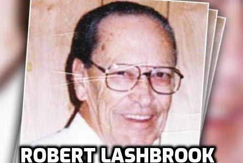Image may contain: 1 person, smiling, eyeglasses, possible text that says 'ROBERT LASHBROOK'