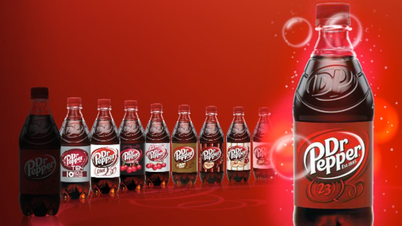 Image result for dr. pepper flavors
