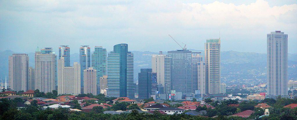 Quezon City Skyline