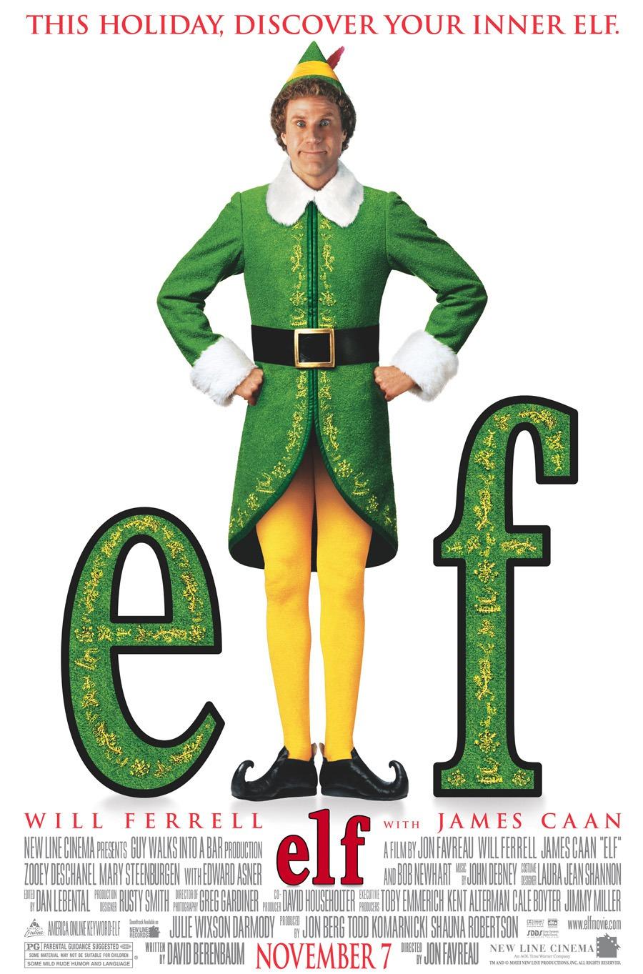 Elf poster (From:IMDB.com).