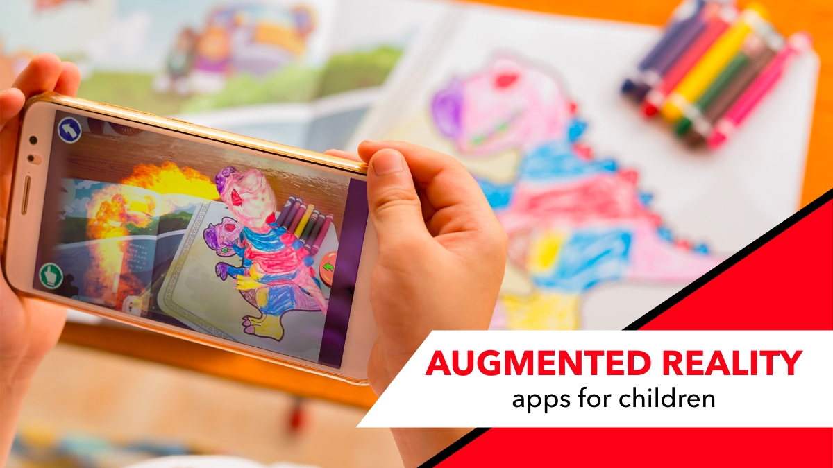 augneted reality apps for children