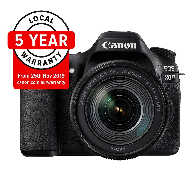 Canon EOS 80D Best DSLR Camera under 1 lakh