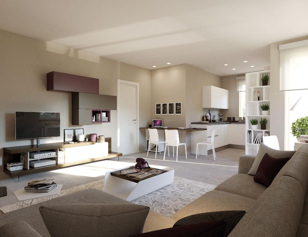 Cucine open space moderne Torino | BussolinoArredo.it