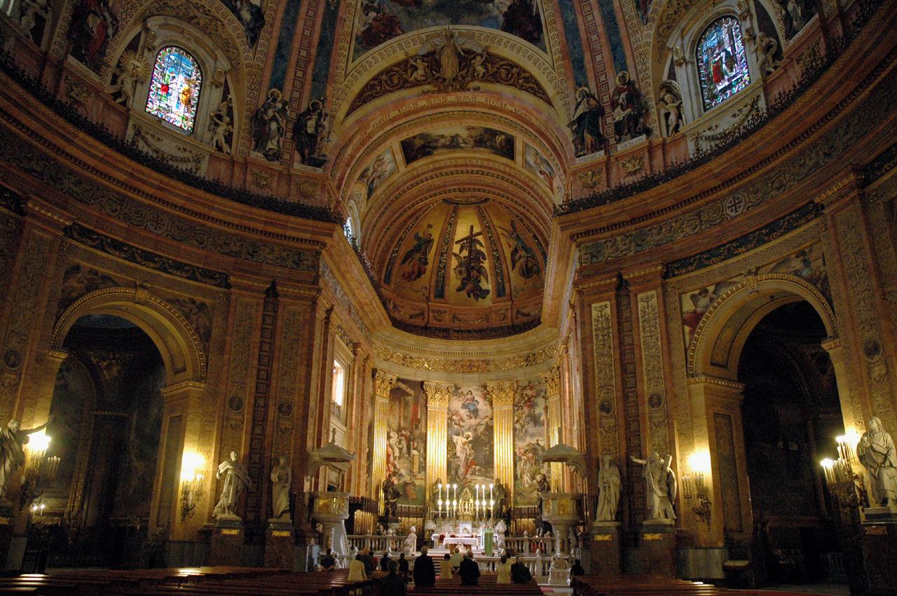 Vương Cung Thánh Đường Thánh Francisco el Grande – thủ đô Madrid, Tây Ban Nha