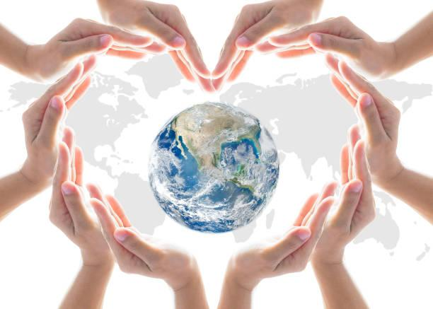 People contribute to the environment and make peace with nature