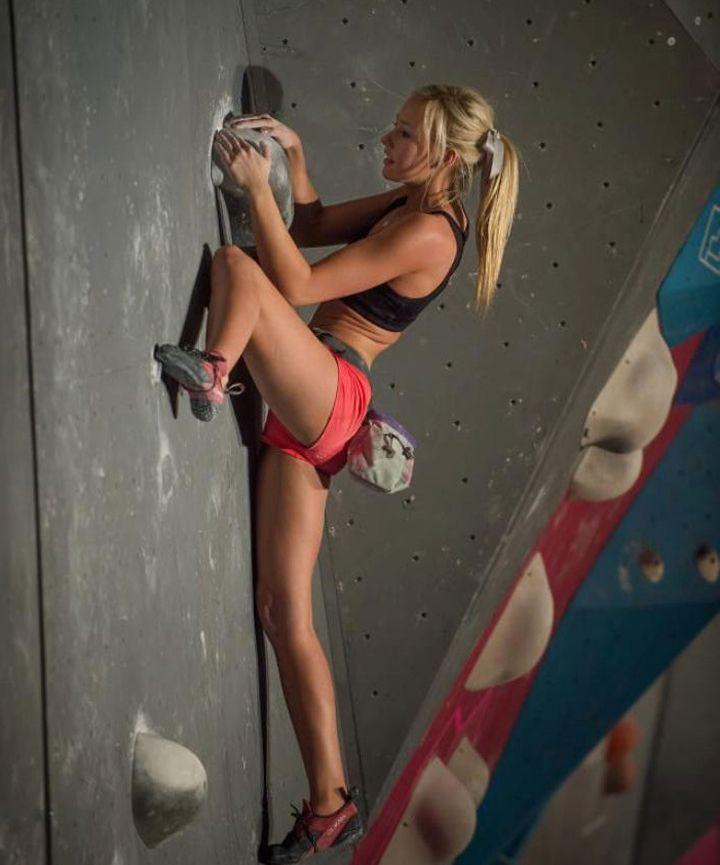 Sierra Blair Coyle (Rock Climber)