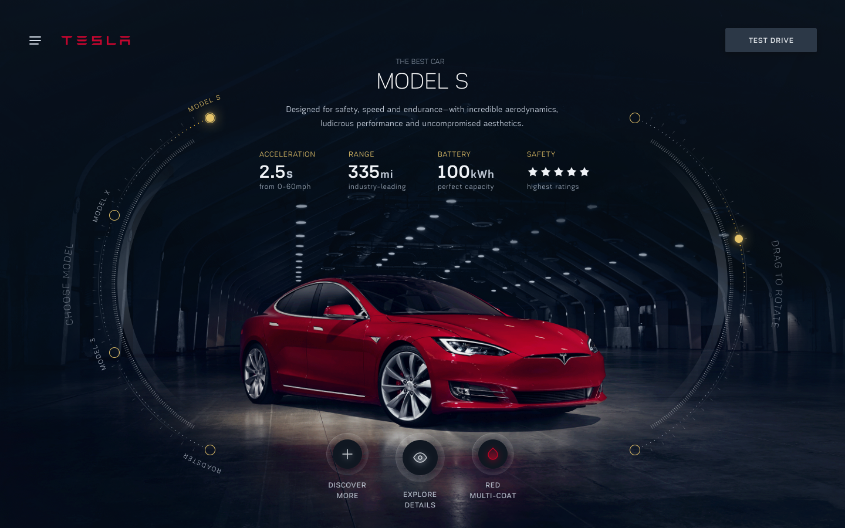 Tesla design studio full