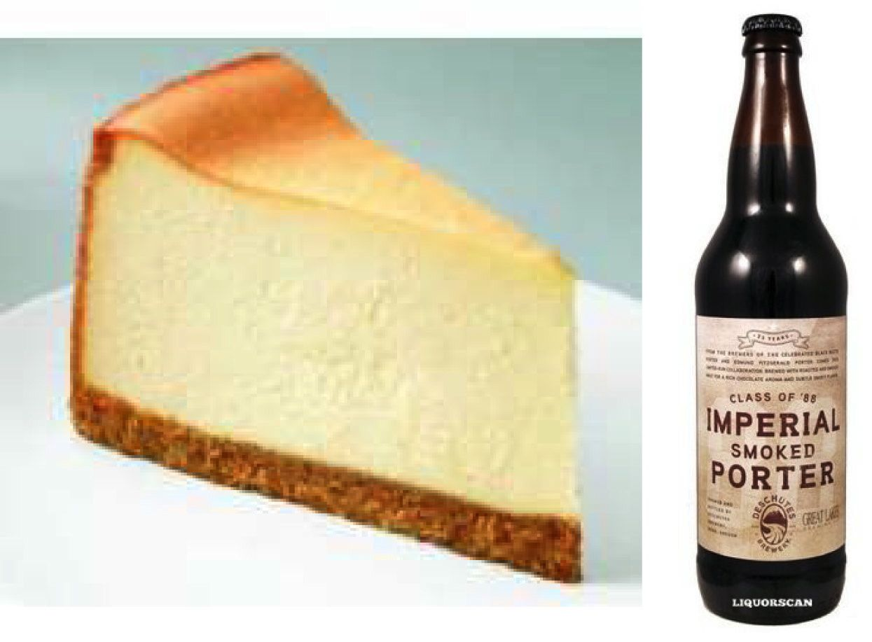 Cheesecake Barleywine and Belgian TripleBeer Pairings