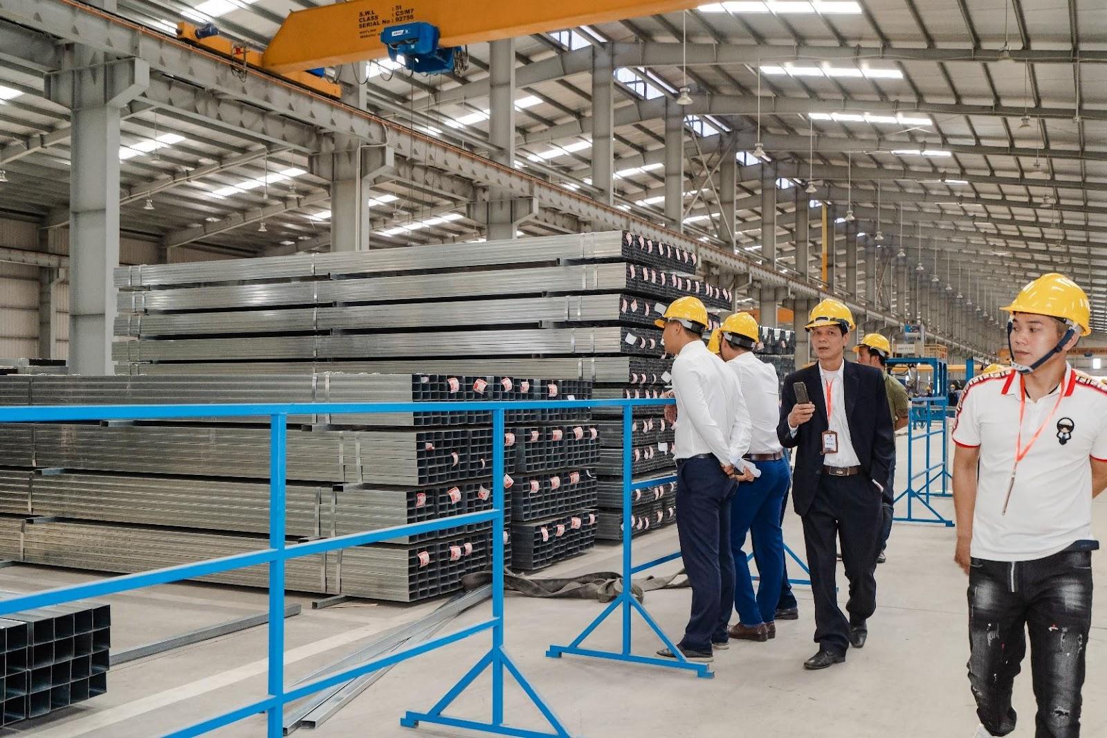 Nhà máy sản xuất thép Vitek chất lượng cao