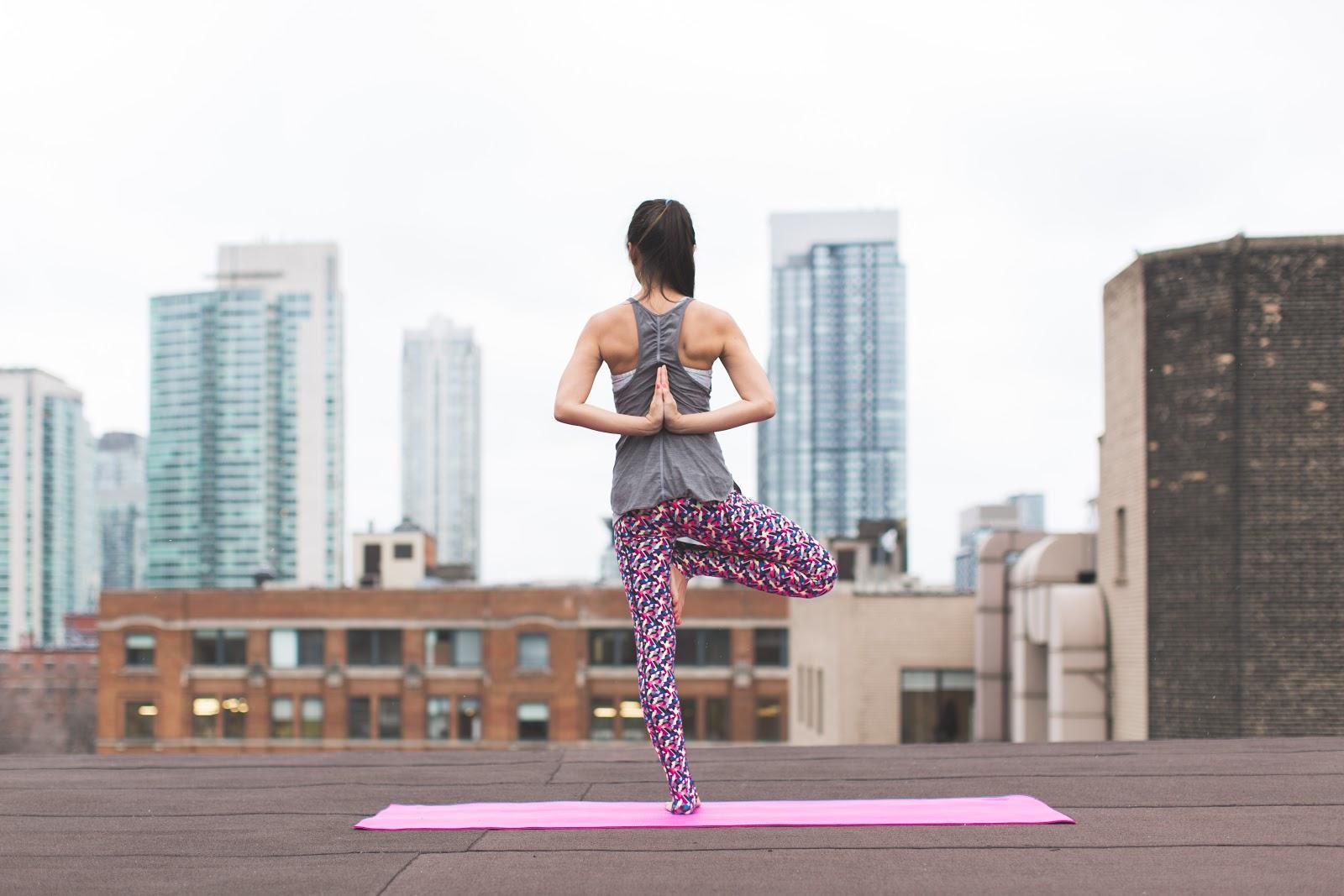 Flexibility through yoga