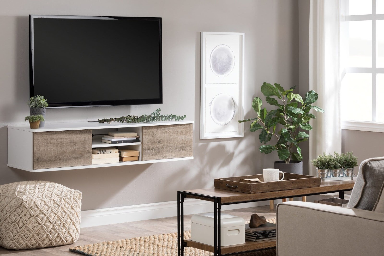Create Your Dream Entertainment Wall large wall decor ideas