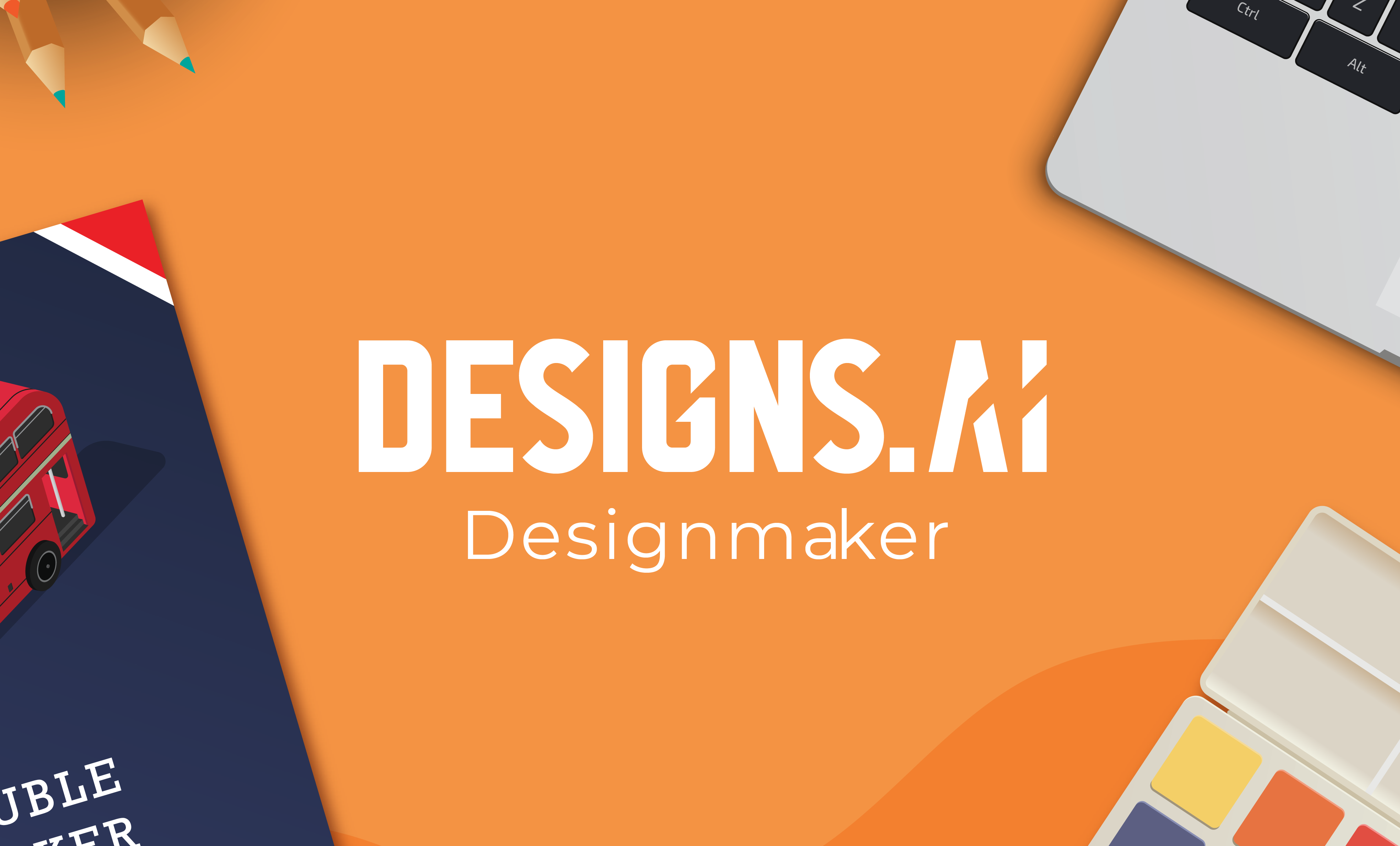 One of the best graphic design tool - Designmaker by Designs.ai