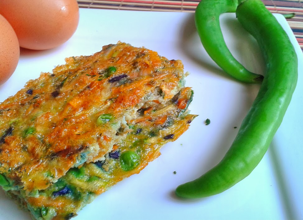 Welcome to Mommyhood Easy healthy recipes - Egg and vegetable bars
