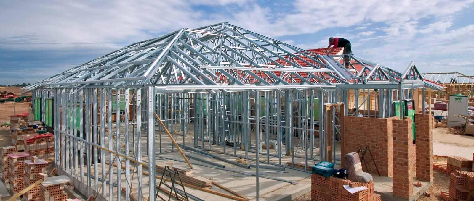 Nhà khung thép sở hữu độ cứng và độ bền vượt trội