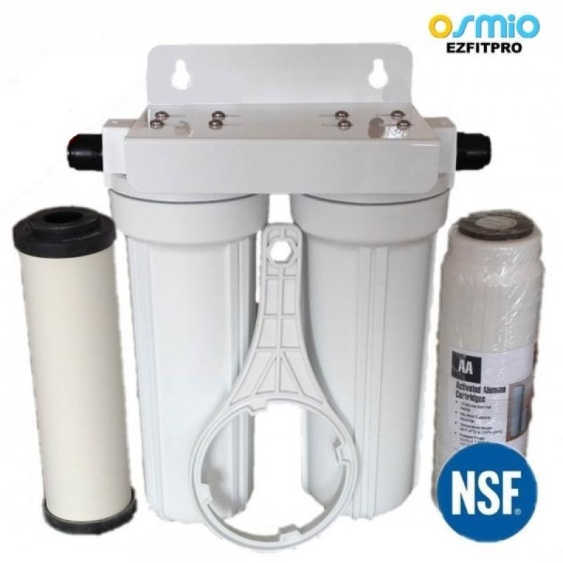Undercounter inline water filter