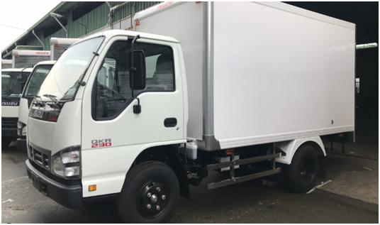 xe tải Isuzu thùng trắng