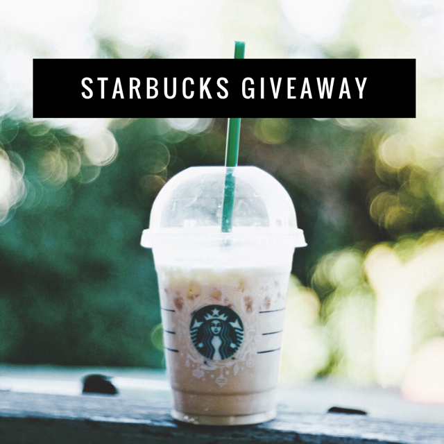 $200 Starbucks Gift Card Giveaway