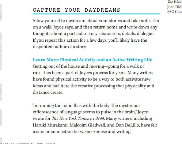 Joyce Carol Oates Masterclass Review - Capture your daydreams