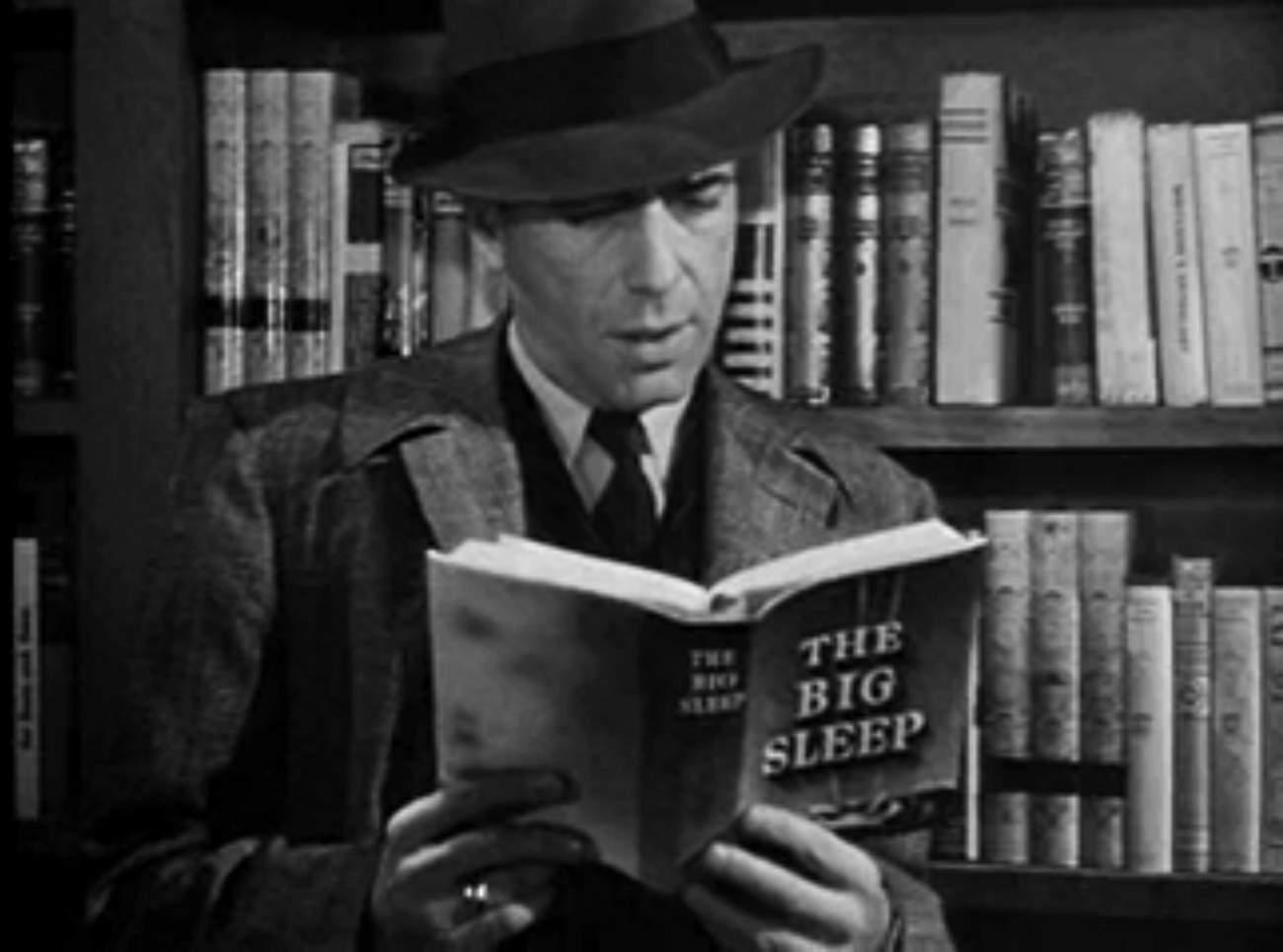 Bogie reading Chandler.jpg