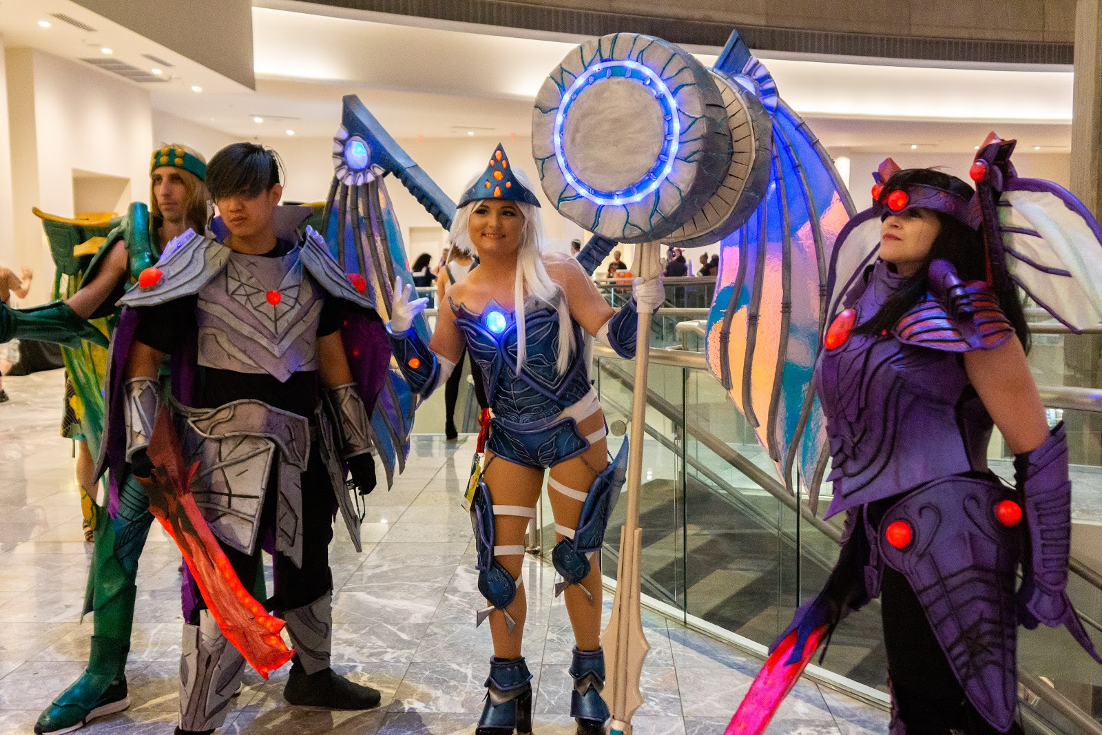 Dragon Con cosplayers