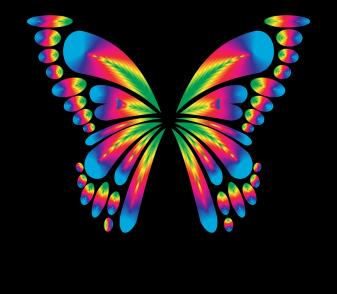 Streszczenie, Zwierząt, Sztuka, Motyl, Chromatyczny