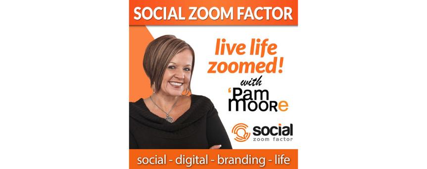 Social Media Zoom Factor Podcasts logo