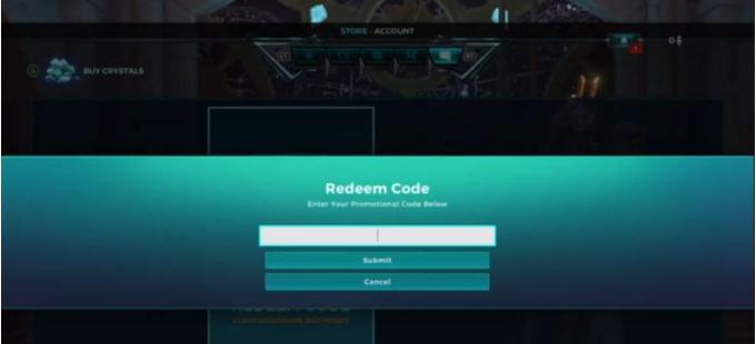 Get Paladins codes redeemed