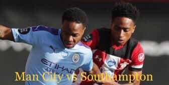 Man City vs Southampton