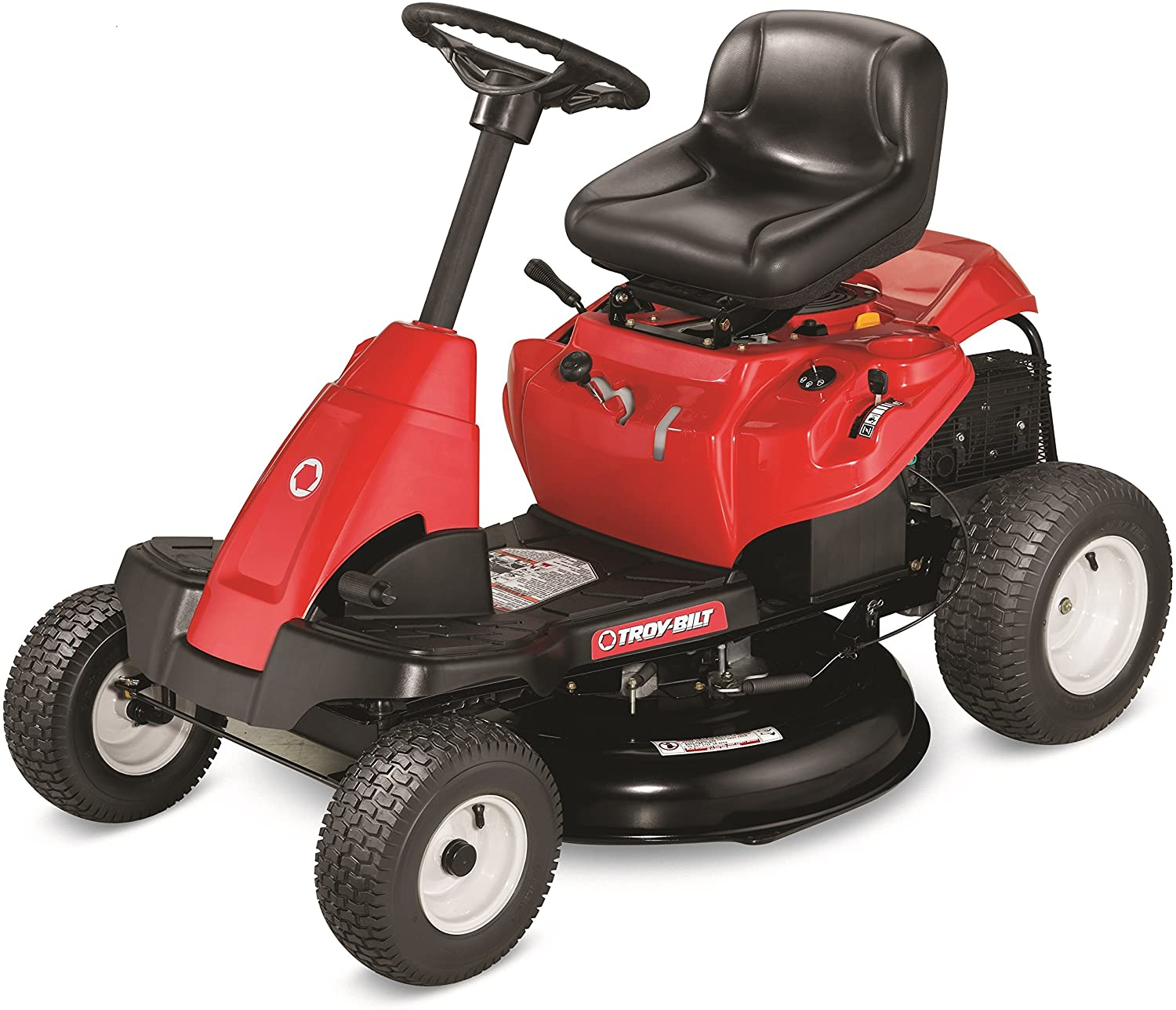 The 30-Inch OHV Premium Neighborhood 382cc Powermore Riding Lawn Mowers from Troy-Bilt