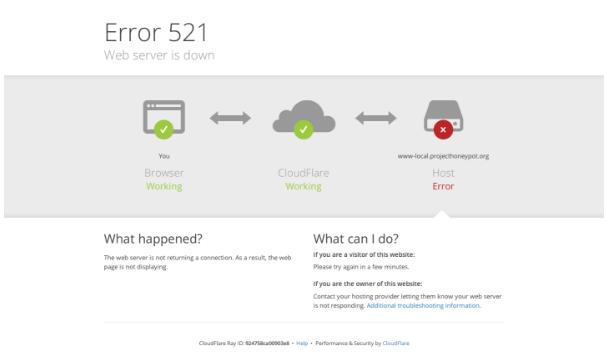 521 web server