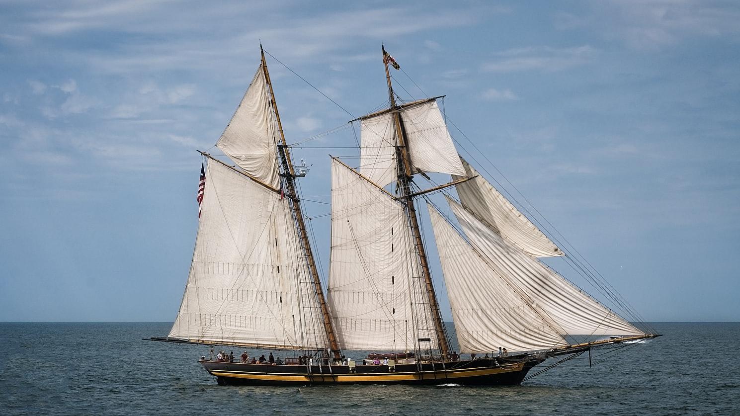 Парусное вооружение чартерной яхты