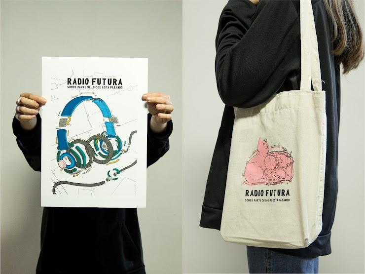 PÓSTER + TOTEBAG   Elegí el modelo de póster, el totebag es modelo único.