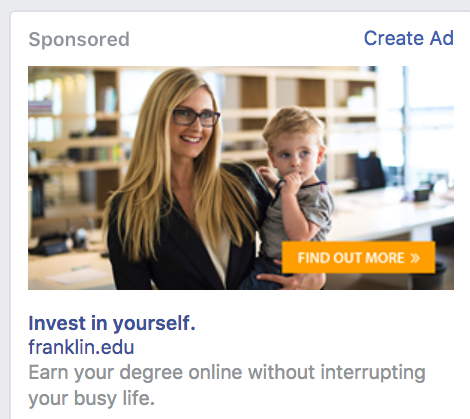 Facebook_ad_for_Franklin_University