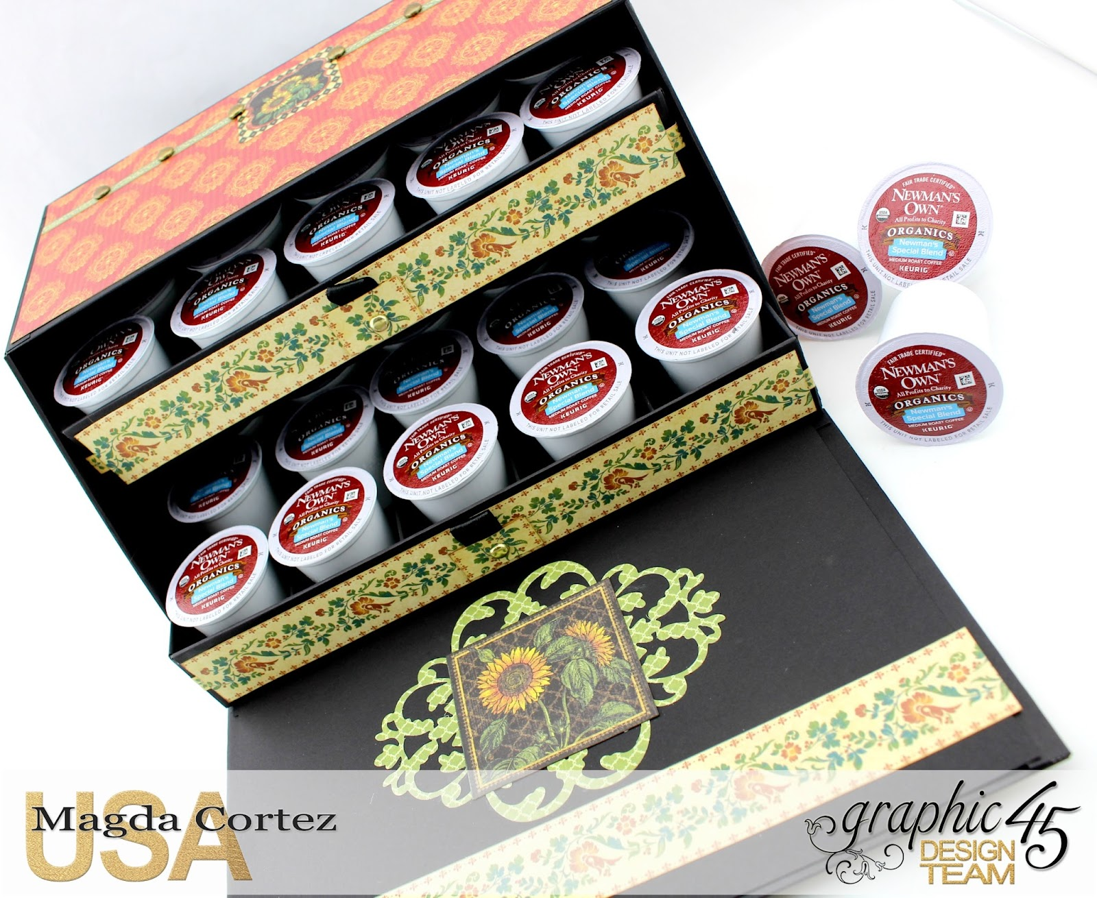 Country Coffee Holder- French Country By Magda Cortez, Product by G45, Photo 04 of 07, Project with tutorial.jpg