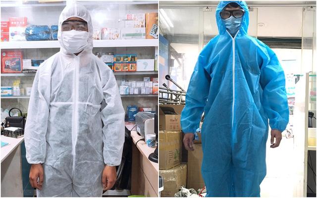 Quần áo phòng dịch tại Long châu được trải qua quy trình kiểm định chất lượng nghiêm ngặt