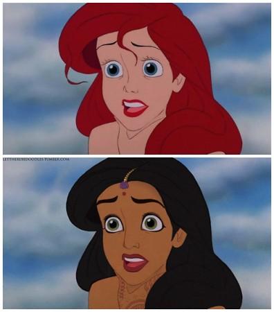 """Chùm Ảnh """"Bạch Tuyết của Disney phiên bản da màu"""" - H5"""