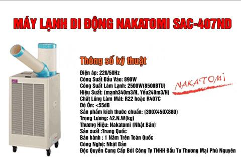 Mã máy lạnh di động bán chạy nhất hiện nay
