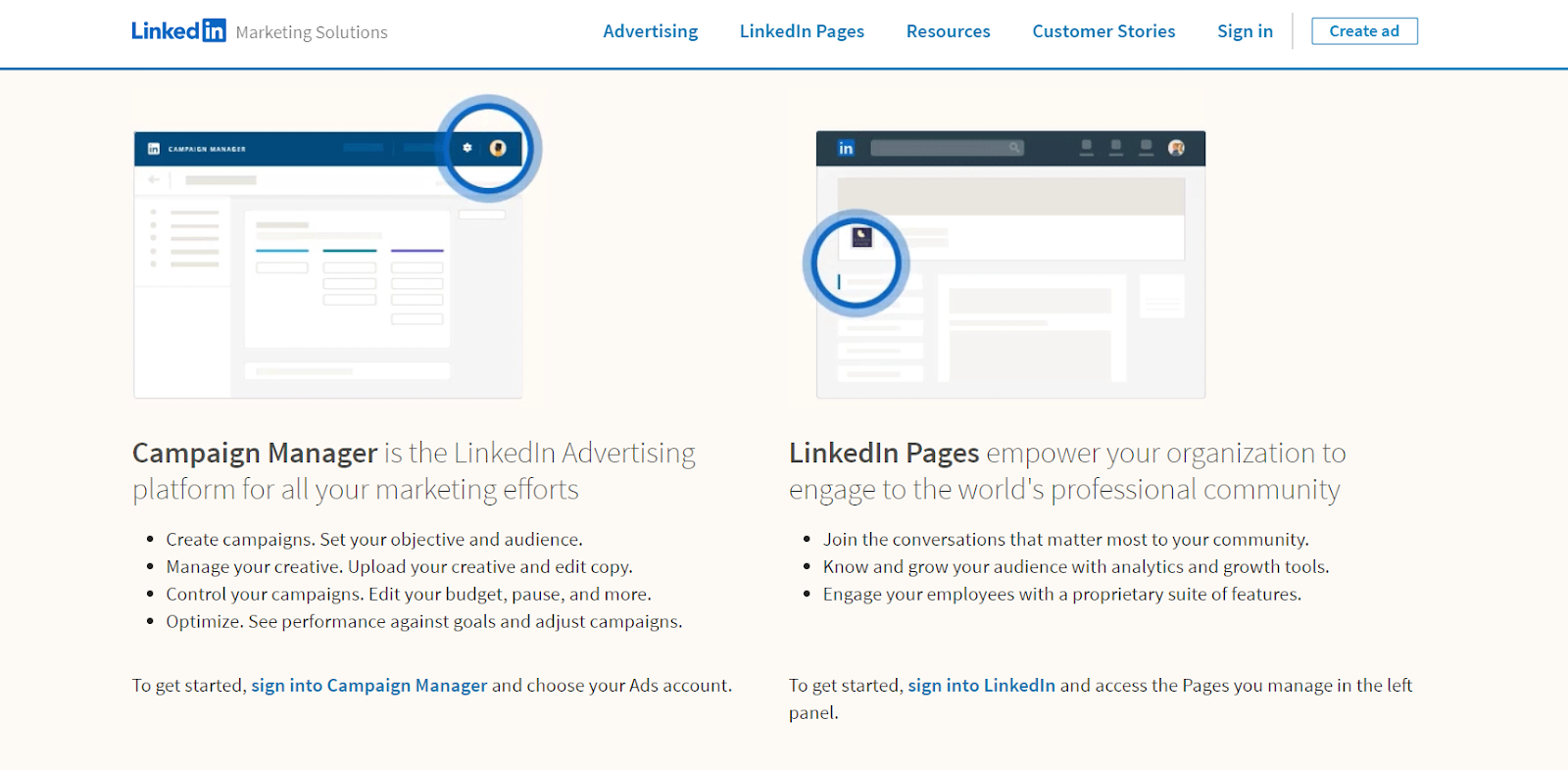 LinkedIn Campaign Manager