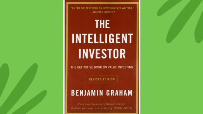 غلاف كتاب المستثمر الذكي