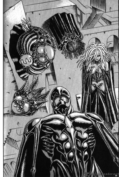 The five fingers of the Godhand - berserk
