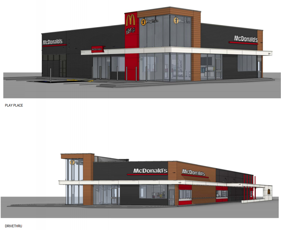 McDonald's and Another Fast Food Restaurant Proposed for Sherwood