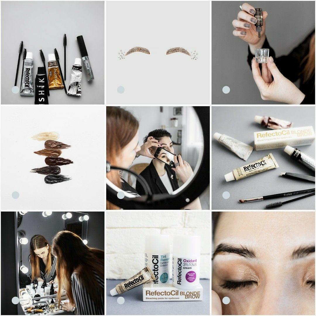 Instagram для бровиста   Окраска бровей, Корекция бровей, Предметы макияжа
