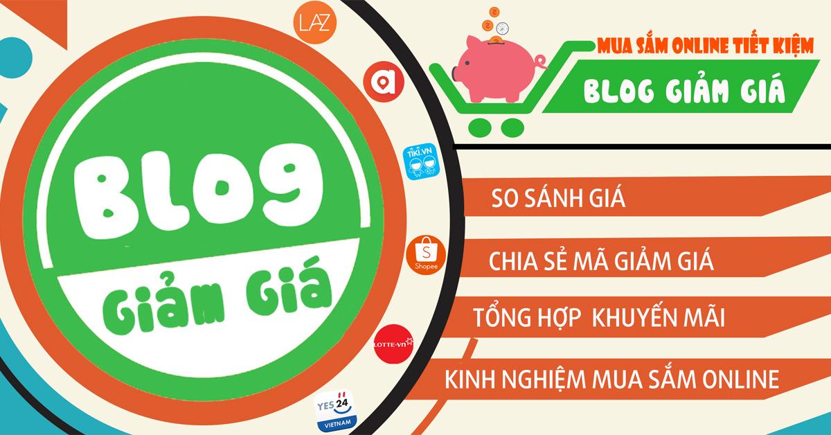 Bloggiamgia.vn là trang web chuyên tổng hợp, cập nhật mã giảm giá từ các website thương mại điện tử hàng đầu tại nước ta