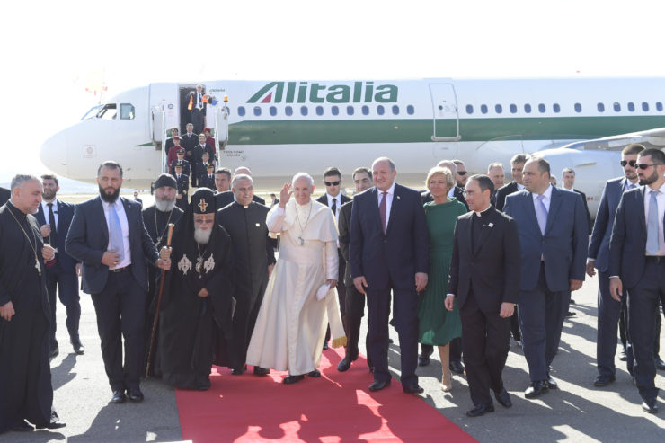 Pope in Georgia