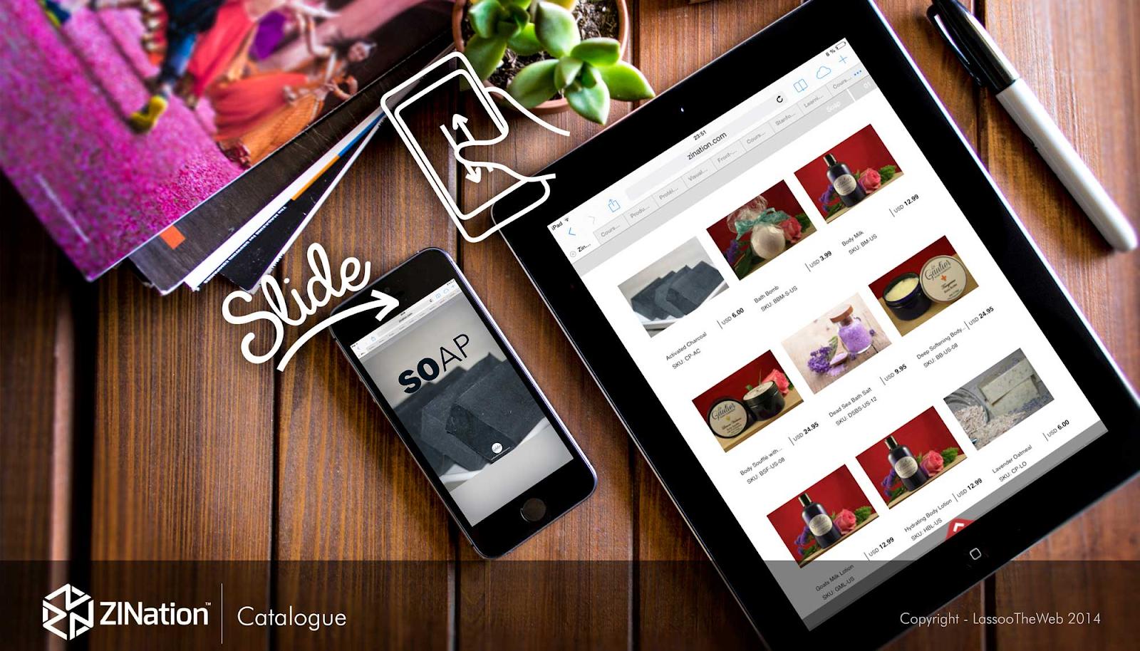 catalog app Shopify
