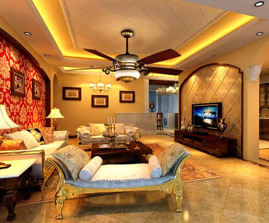 Quạt trần giúp làm đẹp cho căn phòng