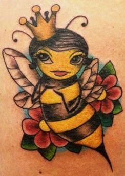 Best Honey Bee Tattoo