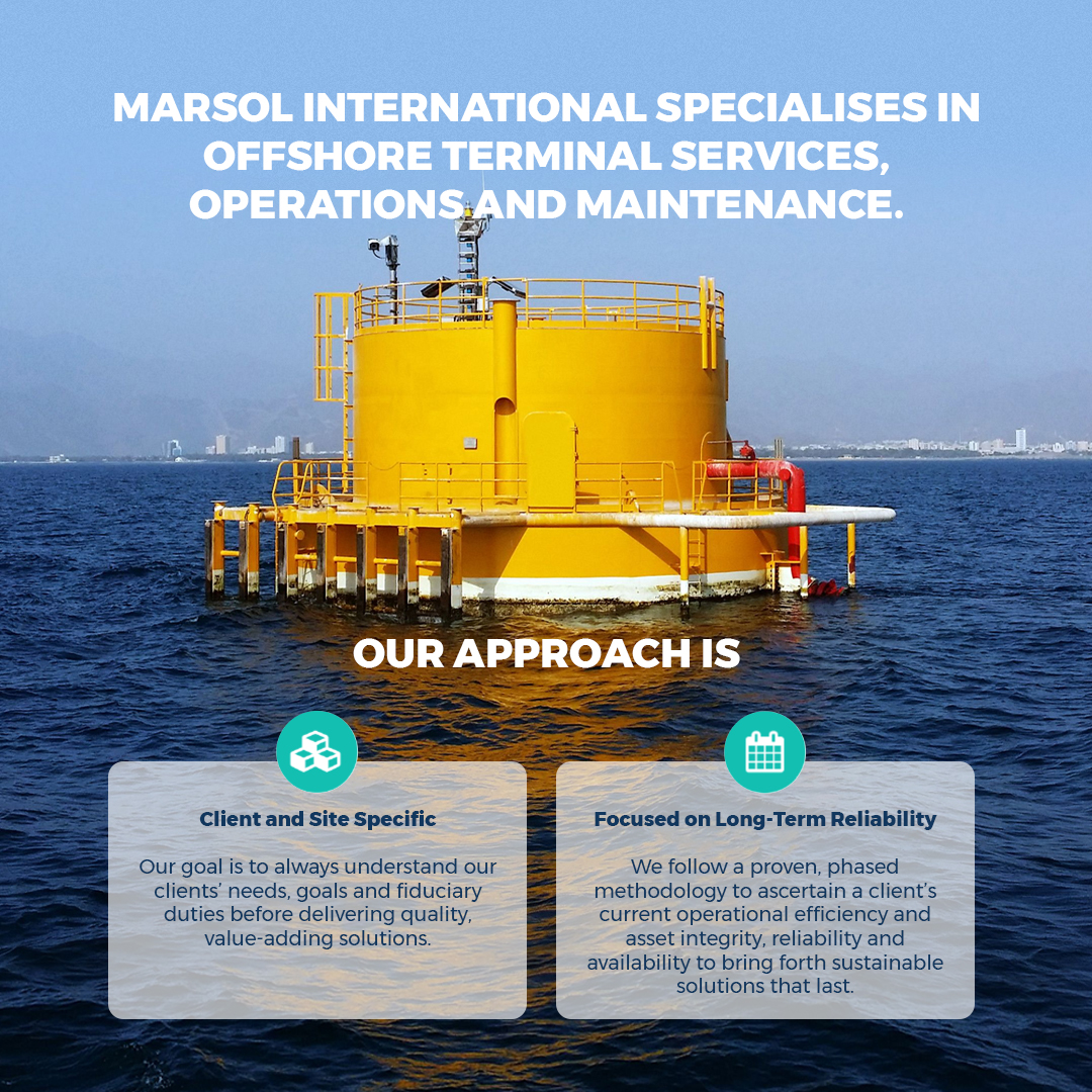 Minimise OpEx and achieve sustainability with offshore terminal integrity management