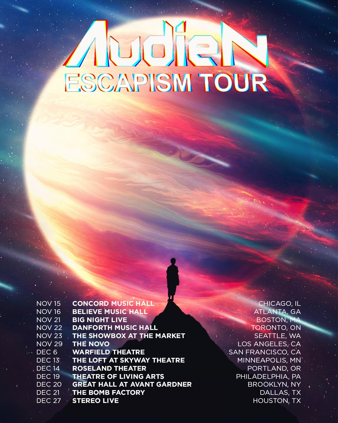 "Audien Releases New Single ""REACH"" ft. Jamie Hartman!"